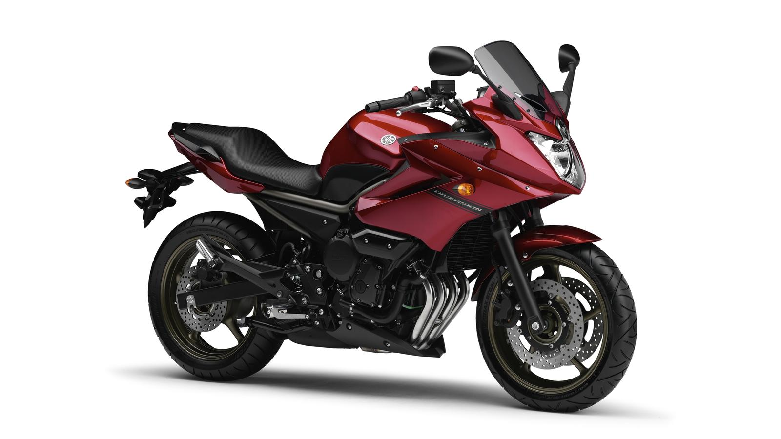 2010 Yamaha XJ6 Diversion EU Lava Red Studio 001