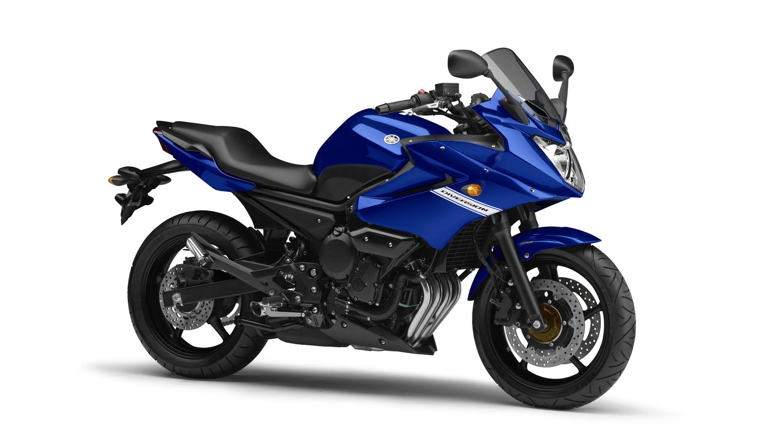 2011 Yamaha XJ6 Diversion EU Viper Blue Studio 001